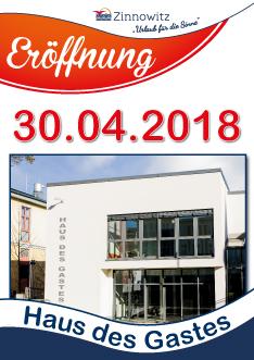 Eröffnung Haus des Gastes im Ostseebad Zinnowitz