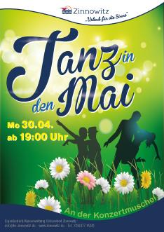 Ostseebad Zinnowitz - Tanz in den Mai