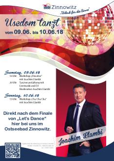 Usedom tanzt in Zinnowitz mit Joachim Llambi
