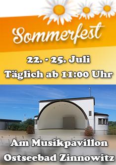 Sommerfest Zinnowitz