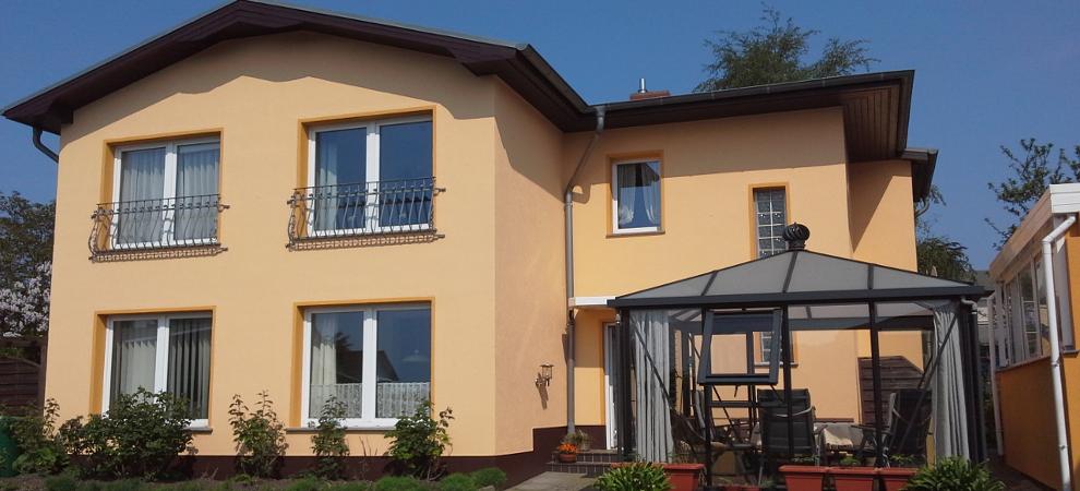 Homepage des Ostseebad Zinnowitz Haus Sonnenblume in
